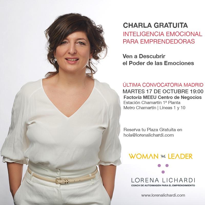 Jornada Inteligencia Emocional con Lorena Lichardi